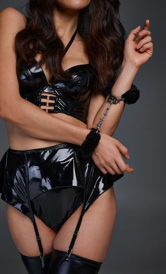 Private Handcuffs, Svart