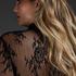 Isabelle blondekimono, Svart