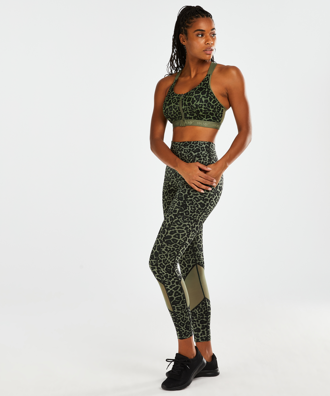 HKMX Oh My Squat tights med høy midje, Grønn, main