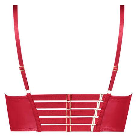 Kennedy Longline foret pushup-BH med bøyle, Rød