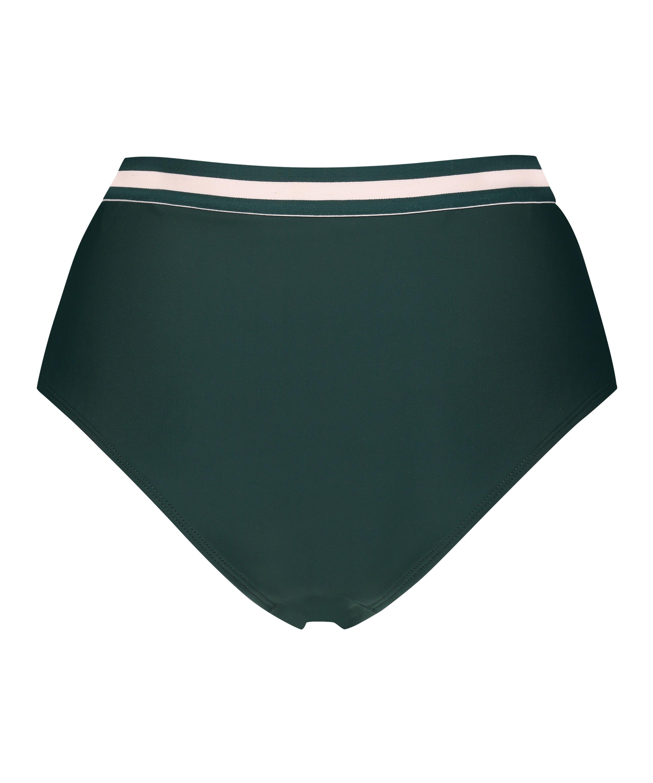 Pinewood høy og frekk bikiniunderdel, Grønn, main