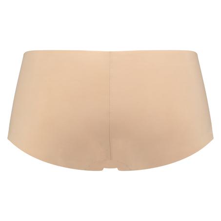 Usynlig shorts, Beige