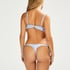 Julia triangle bikinitopp, Blå