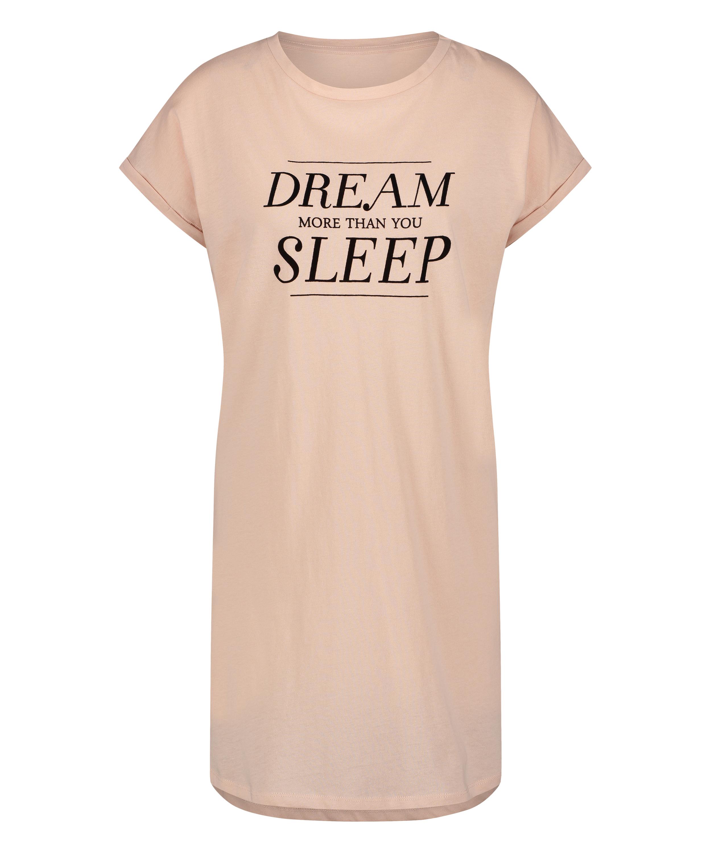 Dream kortermet nattskjorte, Rosa, main