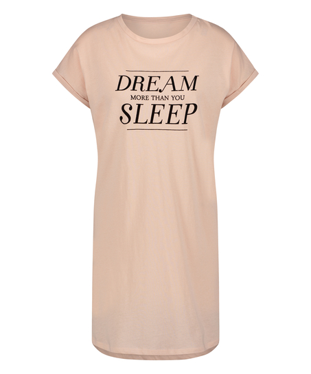 Dream kortermet nattskjorte, Rosa